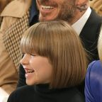 Victoria Beckham's Daughter Harper Is Twinning With Anna Wintour: See Their Matching Haircuts!