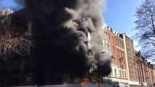 More than 50 firefighters tackle large blaze in London's West End