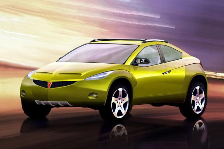 Weird Car Of The Week This Pontiac Suv Concept Was The