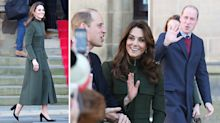 Duke and Duchess of Cambridge arrive in Bradford for first joint engagement of 2020