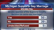 Poll shows Michiganians favor Supreme Court decision on same-sex marriage, Obamacare