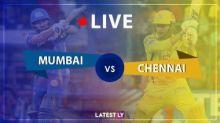 CSK 51/2 in 8 Overs (Target 163) | MI vs CSK Live Score Updates IPL 2020: Ambati Rayudu, Faf du Plessis Take Chennai Forward