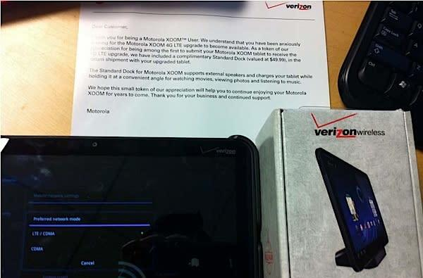Verizon sending Xoom docks back with delayed, updated slates