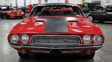 Rally Red 1972 Dodge Challenger Shows Off Its Muscles