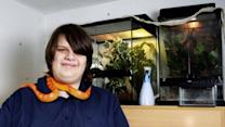 Teenager Owns Over 300 Exotic Pets