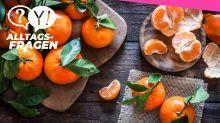 Alltagsfrage: Worin unterscheiden sich Mandarinen von Clementinen?