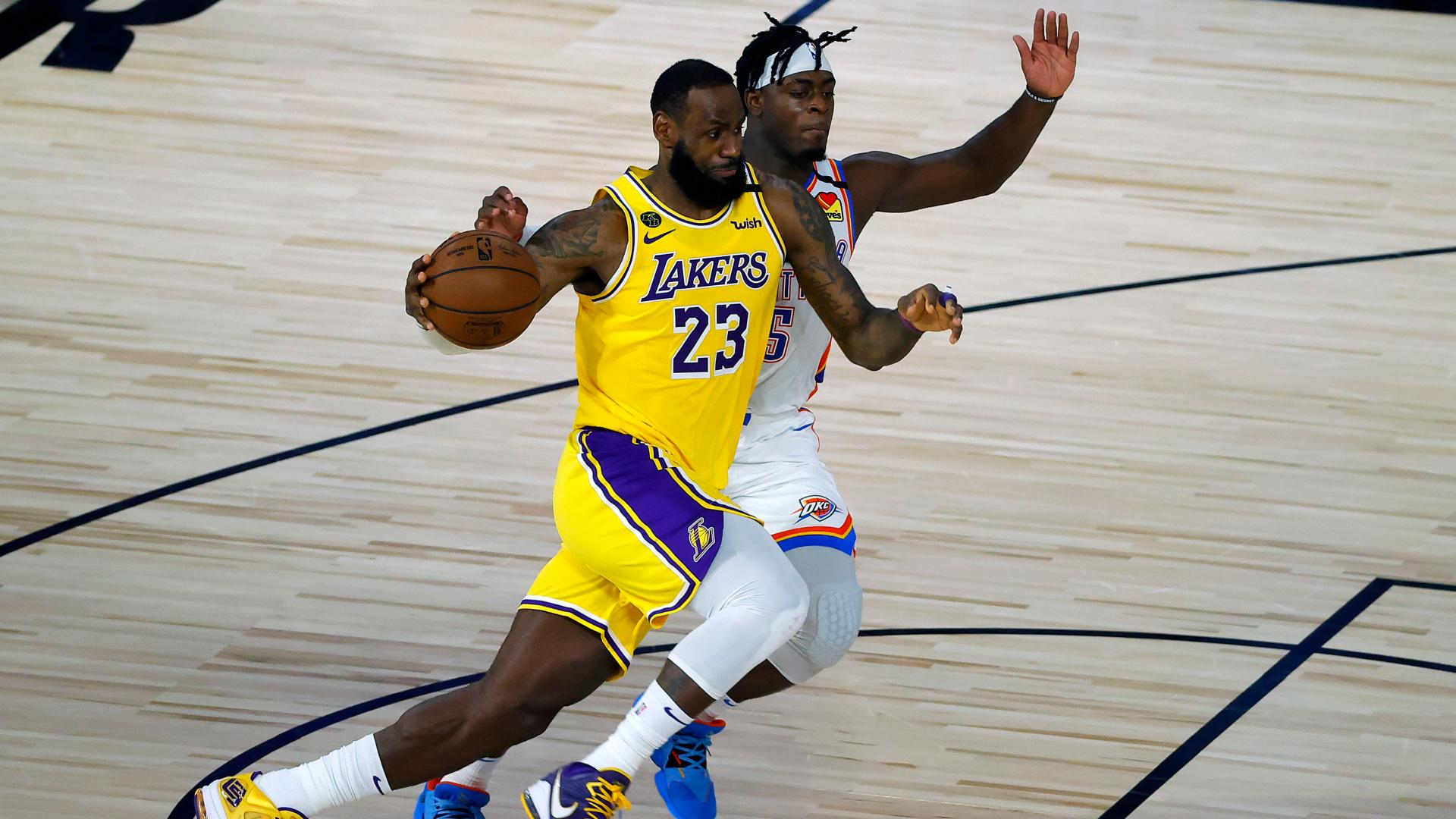 Lakers fall to Thunder, Embiid leads 76ers