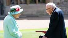 Captain Sir Tom Moore turns down tea with the Queen