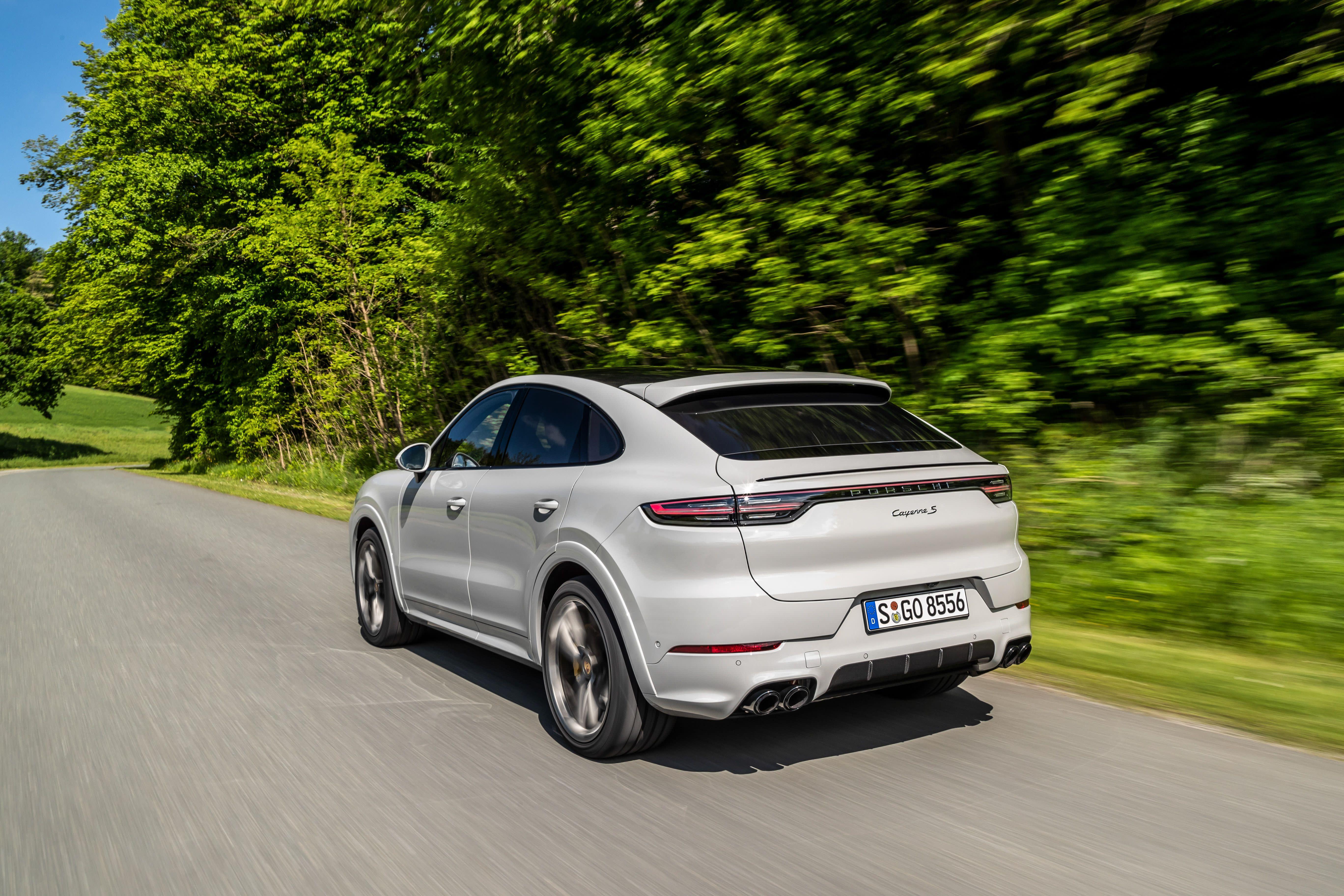 Photos Of The 2020 Porsche Cayenne Coupe
