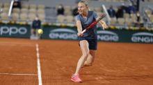 Roland-Garros (F) - Fiona Ferro : «On prend vite goût à ces grosses ambiances»