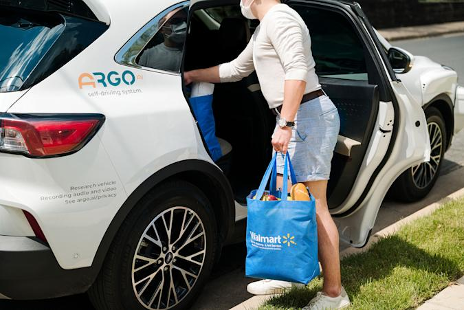 Ford, Walmart and Argo AI will launch autonomous vehicle deliveries in three cities