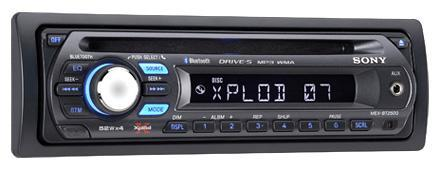 Sony's easy MEX-BT2500 Bluetooth car stereo pairs with almost anything
