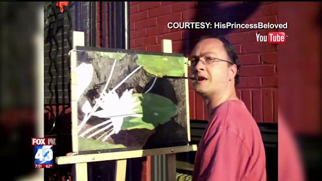 Artist With Rare Disease Uses Mouth to Paint