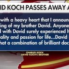 David Koch dead at 79, brother Charles Koch announces