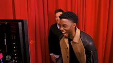 'Black Panther' star Chadwick Boseman surprises unsuspecting fans