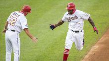 Kendrick homers, Soto dances, Nats beat Mets 5-3 in return