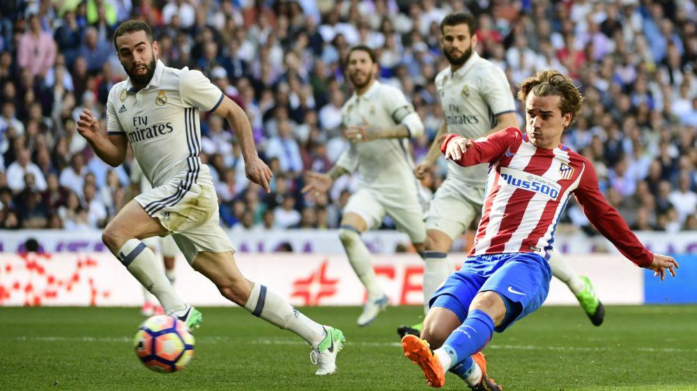 El partido de Griezmann contra el Real Madrid