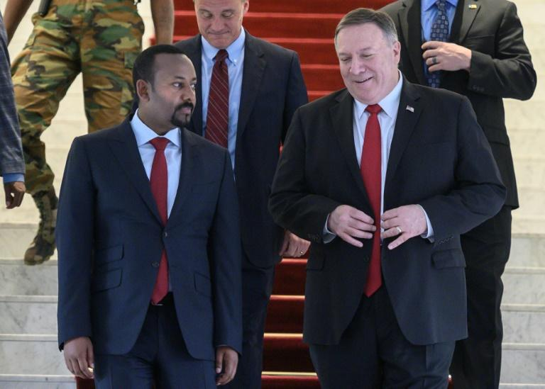 US Secretary of State Mike Pompeo and Ethiopian Prime Minister Abiy Ahmed discussed Ethiopia's upcoming elections