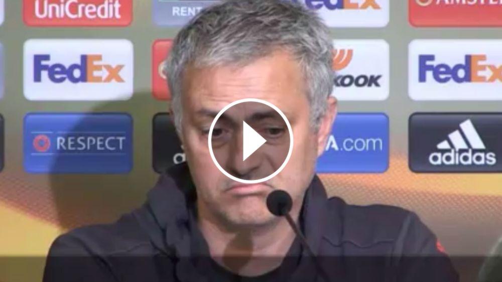 VÍDEO: Mourinho espera que De Gea no se vaya al Real Madrid