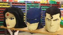 Holy Brick Batman! Artist Transforms Superheroes Into Lego Masterworks