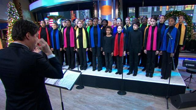 Young People's Chorus of New York City Sing