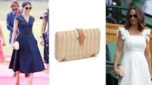 J Crew launches new version of Meghan Markle and Pippa Middleton's rattan clutch