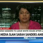 The media continues its attacks on Sarah Sanders
