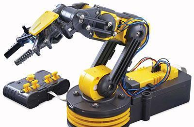 Engadget's recession antidote: win an OWI Robotic Arm Edge!