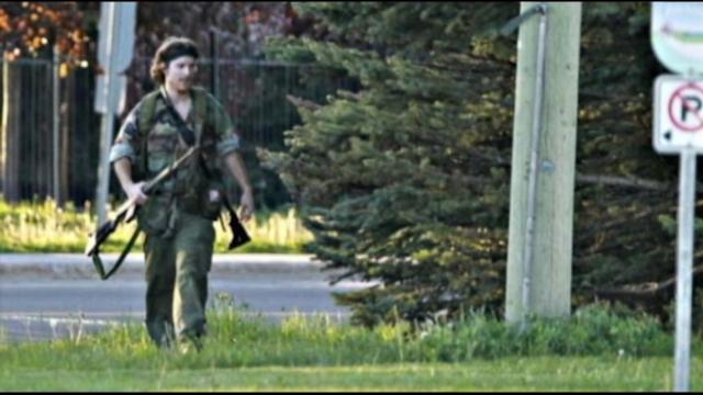 Armed Man Sought in Canada, 3 Police Killed