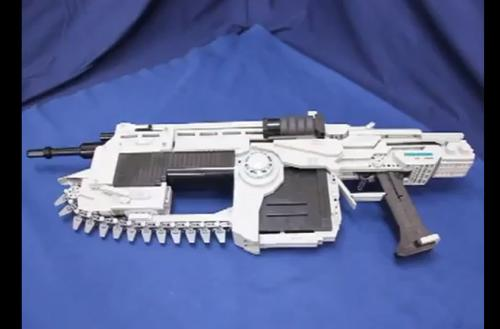 LEGO Lancer is a ludicrous, life-size labor of love