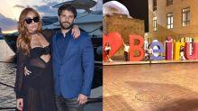 Sabrina e Duda relembram noite na mesma região da explosão em Beirute