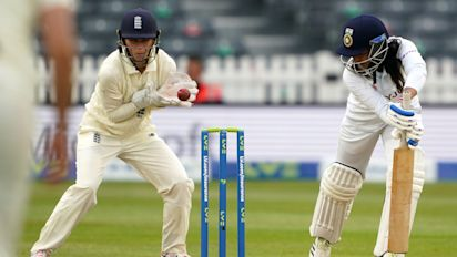 England Women forced to settle for draw as India's lower order thwarts hosts
