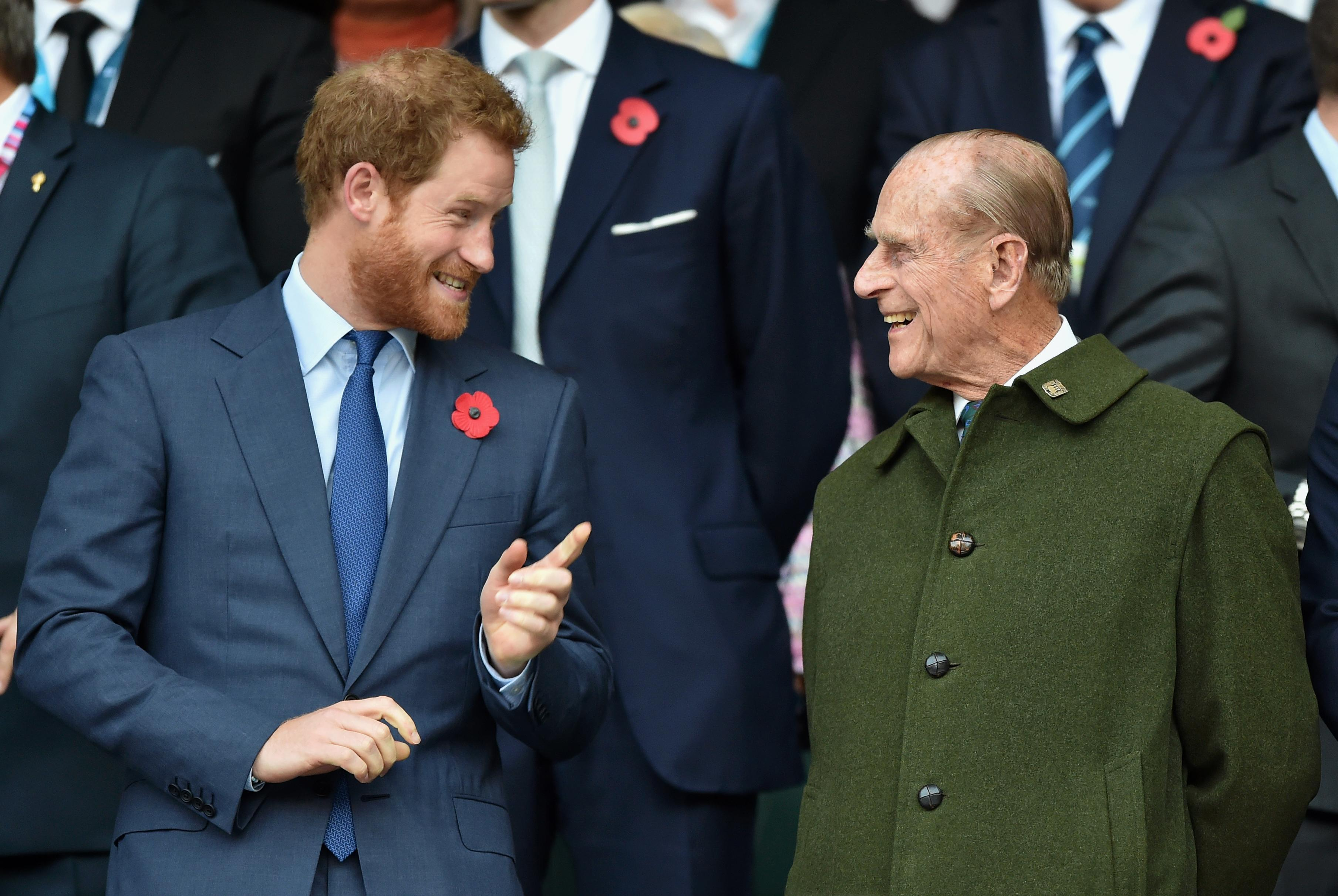 Prince Harry on Prince Philip: 'Legend of banter'