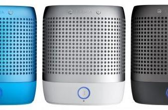 Nokia's Play 360 Bluetooth speaker uses NFC daps to pair with your phone