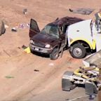 Police: 13 killed when big rig hits SUV carrying 25