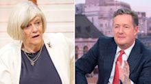 Piers Morgan scorns an angry Ann Widdecombe live on GMB after immigration comment