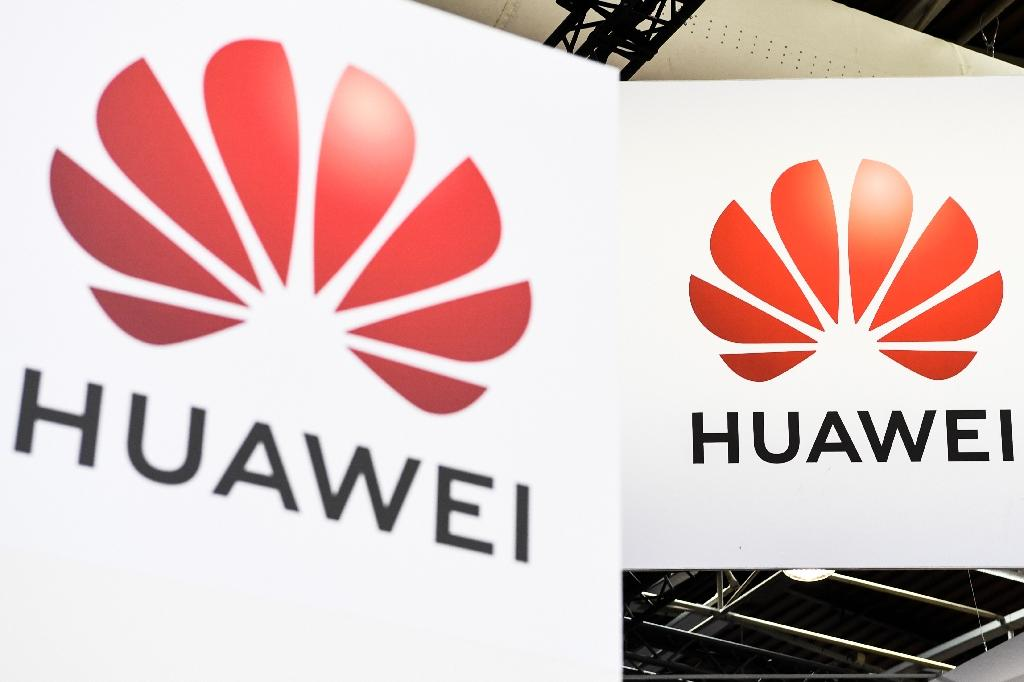 President Donald Trump effectively barred Huawei from the US market amid an escalating trade war with Beijing (AFP Photo/ALAIN JOCARD)