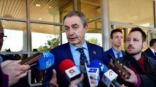 """Zapatero: El Gobierno ha gestionado """"absolutamente"""" bien el caso Delcy Rodríguez"""