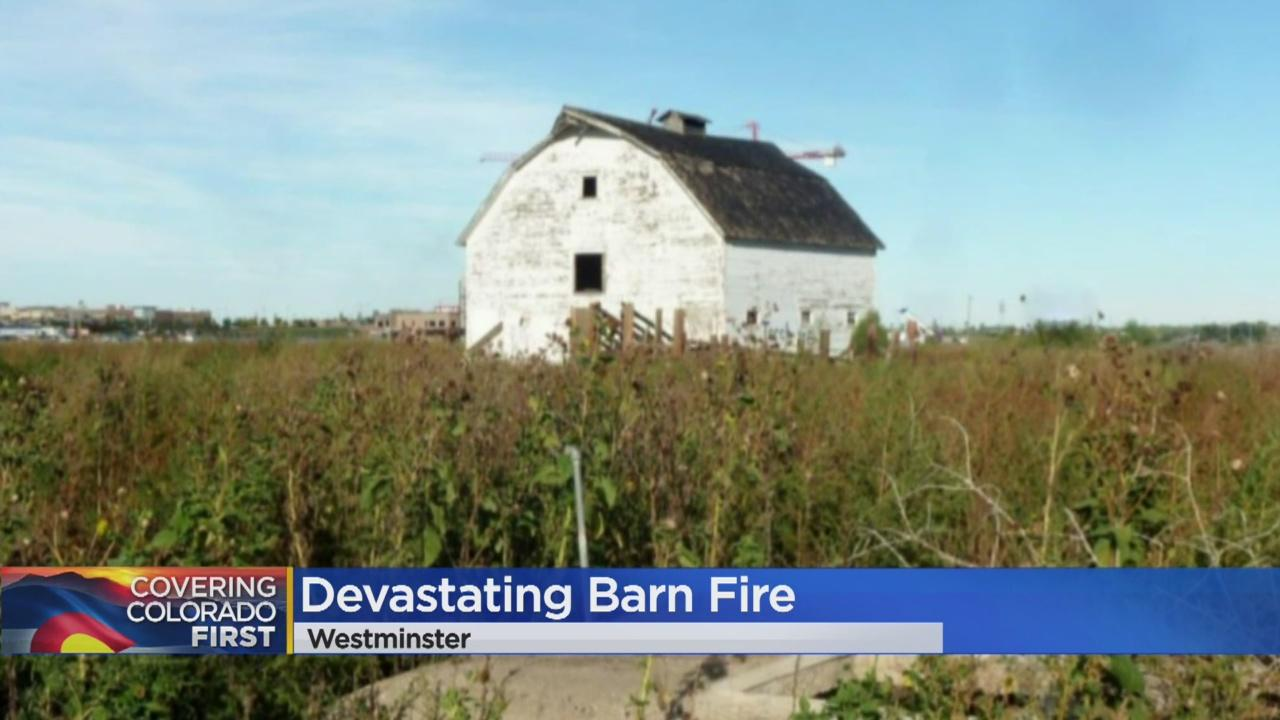 Cause Of Barn Fire In Westminster Under Investigation Video