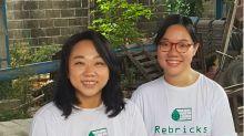 Rebricks: 2 perempuan reka ulang dunia konstruksi melalui daur ulang