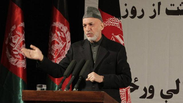 Hagel denies Karzai claims that U.S. working with Taliban