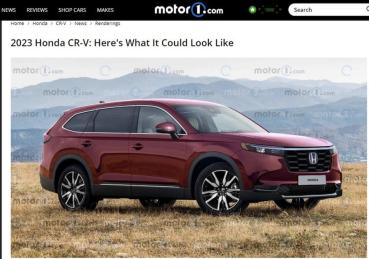 跑格魂上身!新一代 Honda CR-V 外型走向曝光