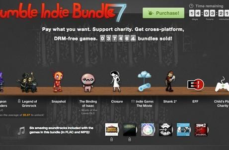Humble Bundle goes indie once more in seventh iteration, includes Indie Game: The Movie