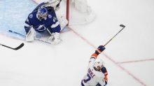 Isles stay alive: Eberle seals 2-1 2OT win over Lightning
