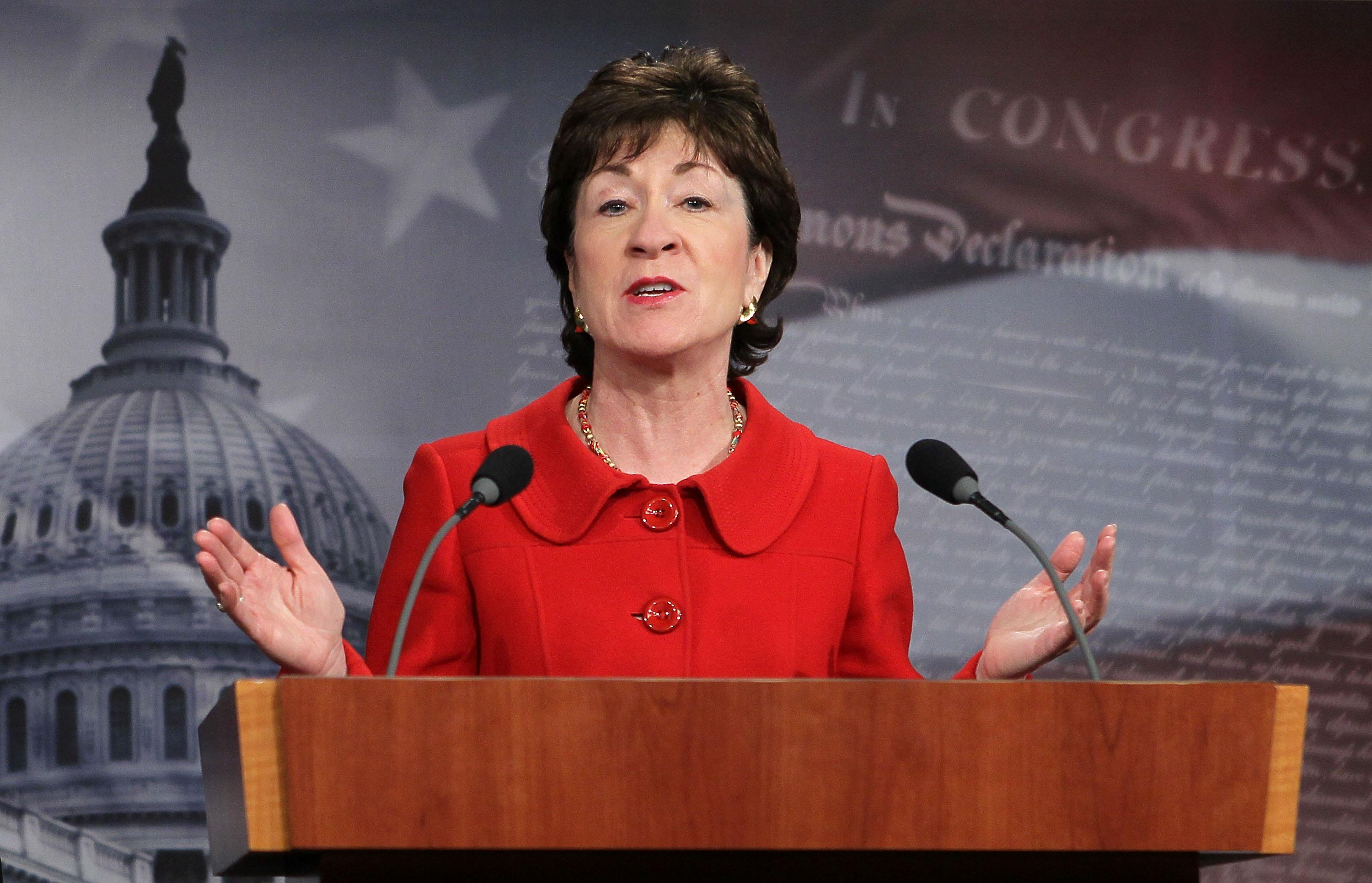 The move comes after Collins appeared to flipflop on whether she would vote for an antiabortion Supreme Court candidate