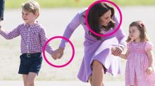 Duchess Kate's Body Language as a Mom