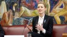 Actress Amber Heard says birth on U.S.-Mexico border sparked rights activism