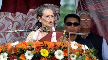 Sonia Gandhi Accuses PM Modi Of Making Hollow Promises