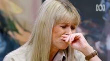 Terri Irwin breaks down revealing Steve predicted he would die young
