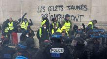 Dégradations à l'Arc de Triomphe: un quatorzième suspect mis en examen